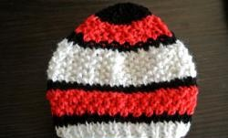 Knitting hat for newborn