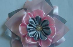 Слоести гумени ленти в сиво розово
