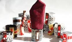 DIY pierścienie na serwetki