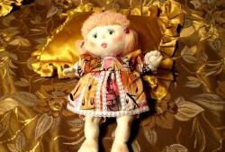 ตุ๊กตาเศษผ้าที่มีตาสอด