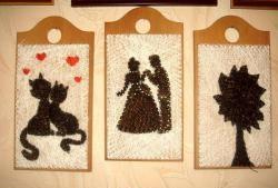 """Imagine din fire și unghii """"Câteva pisici îndrăgostite"""""""