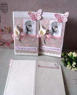 Invitații de nuntă handmade