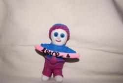 Om de zăpadă personalizat