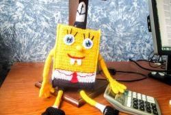 SpongeBob hæklet firkantede bukser