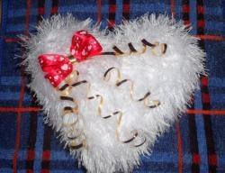 Fluffy valentine
