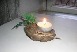 Каменна свещница