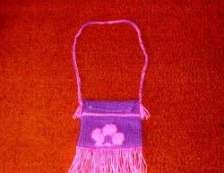 Knitted baby bag