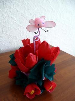 ช่อดอกทิวลิปหวาน