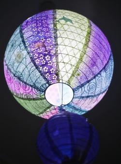 Подводни приключения на хартиена лампа