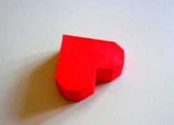 Cutie cadou în formă de inimă