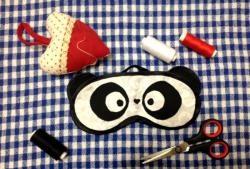 Sleep mask - Panda