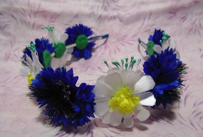 Kır Çiçekleri Bandı