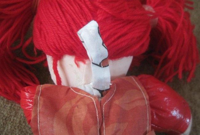 Gør-det-selv dukkehåndklæde