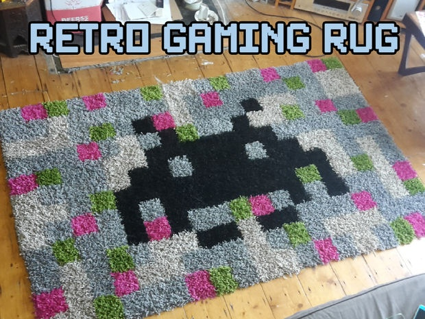 Retro gamer pad