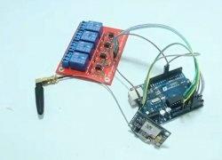 Controler SMS bazat pe SIM800L