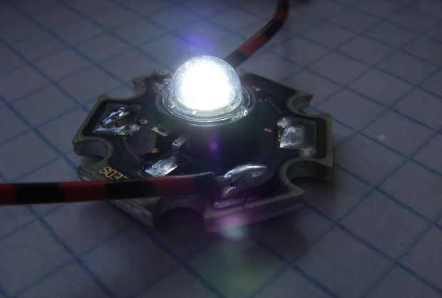 Driver simples para um LED poderoso