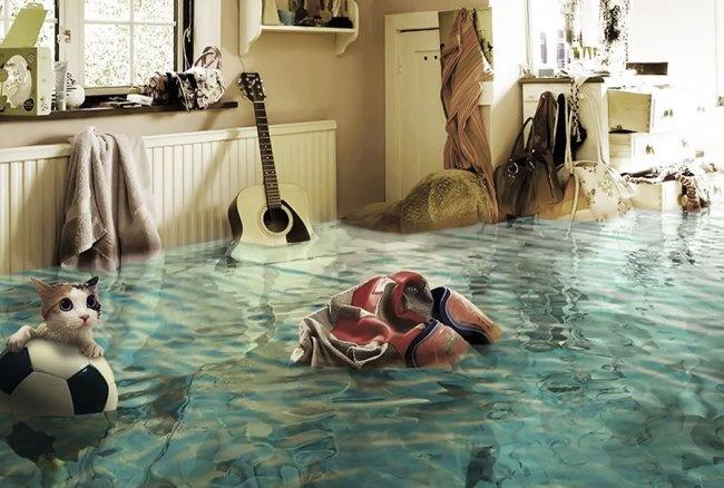 Po zalaniu sąsiadów