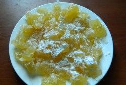 Melão cristalizado
