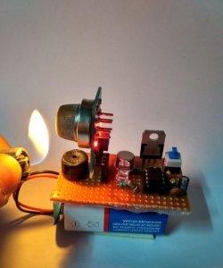 DIY sensor de vazamento de gás