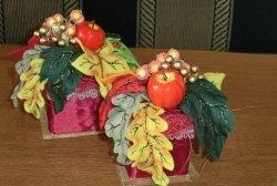 Bouquet de outono de feltro