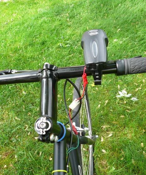 Gerador de bicicleta DIY