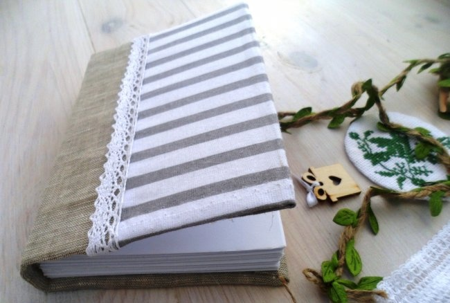 Lindo caderno artesanal