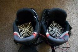 Prosta suszarka do butów zrób to sam