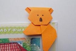 """Jak utworzyć zakładkę """"Koala"""" z papieru"""