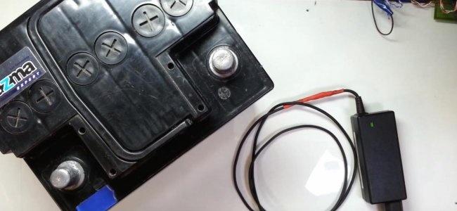 Jak naładować akumulator samochodowy za pomocą zasilacza do laptopa