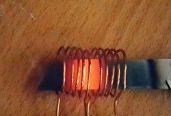 Incalzitor simplu de inductie 12 V