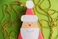 Juleemballage i form af julemanden