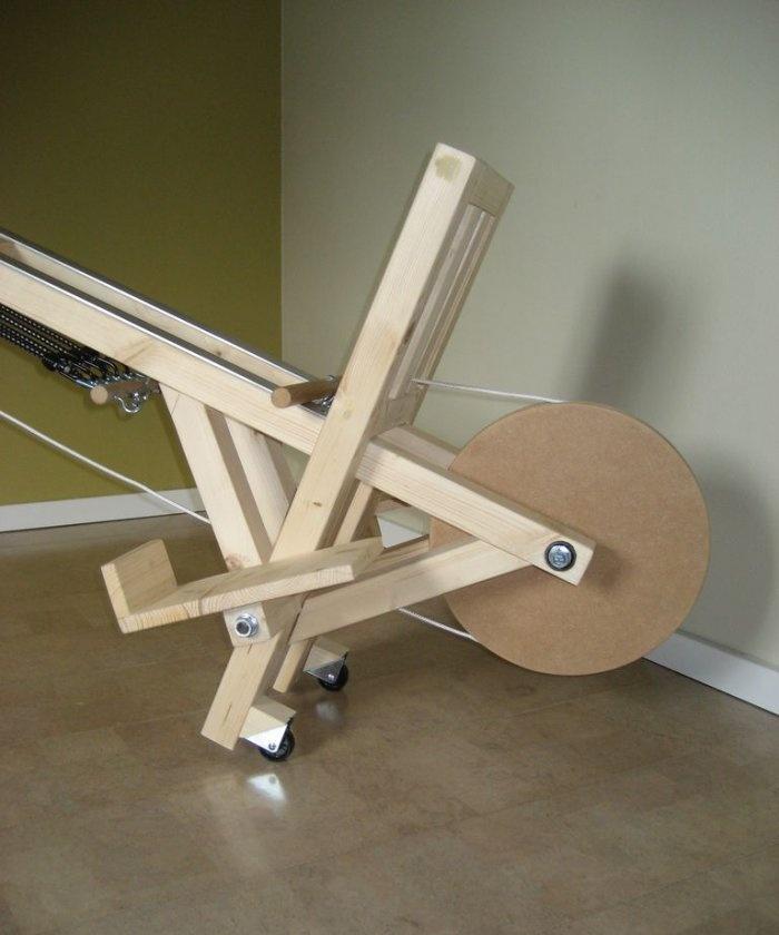 DIY rowing machine