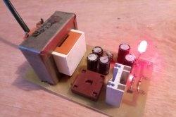 Alimentare pe diodă zener și tranzistor