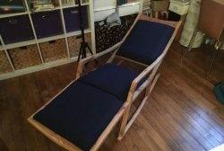 Scaun pentru șezut - balansoar