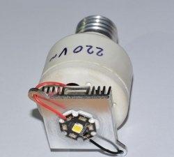 Sådan fremstilles en billig, men meget kraftig LED-lampe