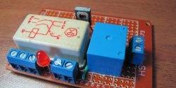 O circuito de controle automático de nível de água mais simples