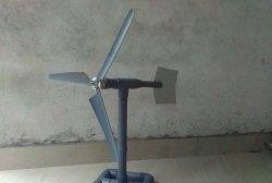 Como fazer um pequeno gerador eólico