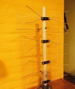 Zewnętrzna szerokopasmowa antena telewizyjna