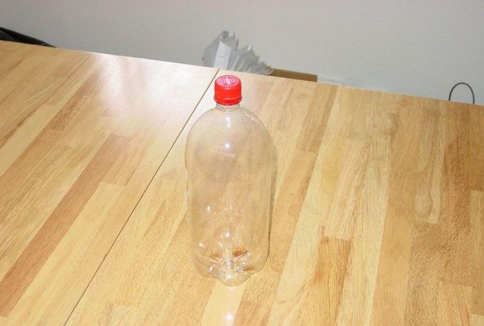 Wzmacniacz do WiFi z plastikowej butelki