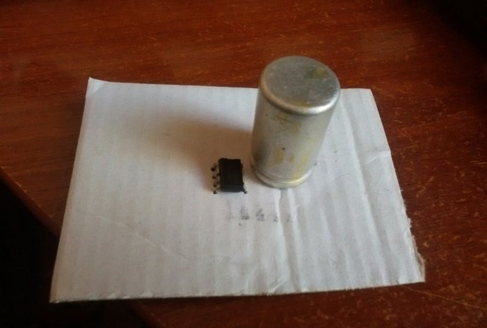 Simple Amplifier on TDA2822