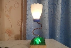 Лампа - направете нощна светлина