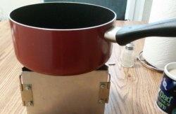Сгъваема къмпинг мини готварска печка за туризъм