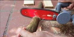 Cum să faci un ferăstrău mobil cu propriile mâini