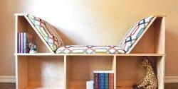 Un loc confortabil pentru a citi și stoca cărți