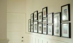 Como fazer uma parede de galeria