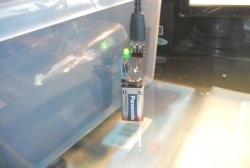 Carregador de bateria de 9V para telefone