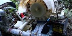 Generator electric - o turbină hidraulică de la o mașină de spălat veche