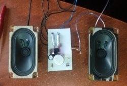 Amplificador Simples em TDA2822