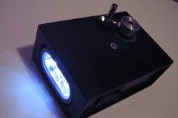 Lanterna Dynamo do motor de passo