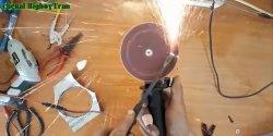 Polizor cu disc portabil 12v